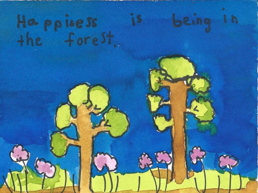 School art, Santa Cruz private school
