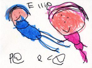 Ellie, School art from Kindergarten student.