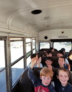 Santa Cruz private school bus schedule
