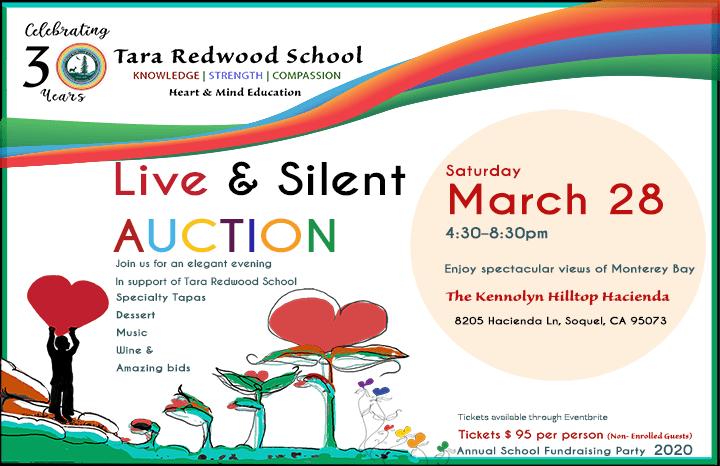 Great schools Santa Cruz fundraising auction